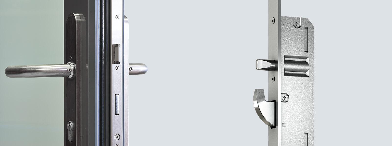 Handle-operated multi-point locks