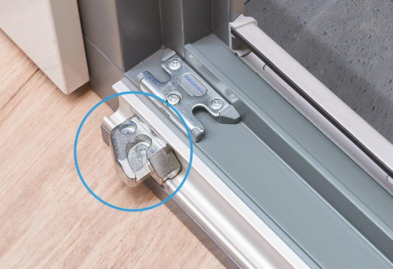 Tuersysteme Schiebetueren Parallel Schiebe Kipp Portal Psk 160 Comfort Ausloeser