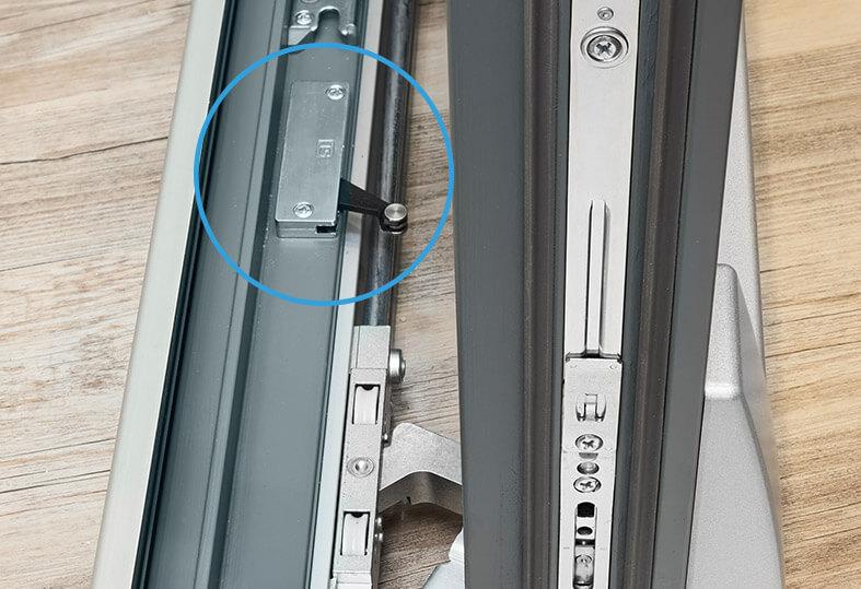 Tuersysteme Schiebetueren Parallel Schiebe Kipp Portal Psk 160 Comfort Zuschlagbremsen