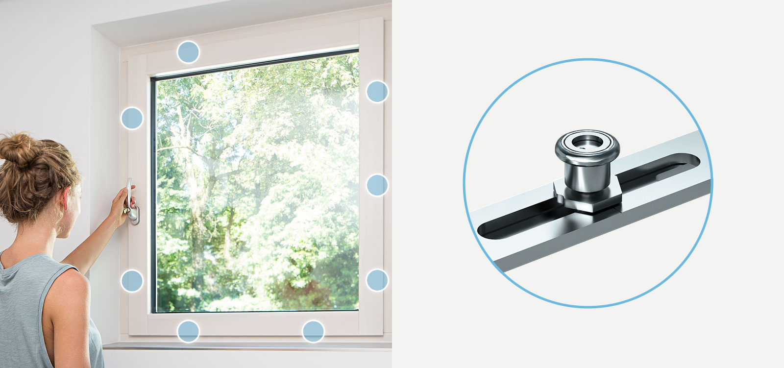 Timber or pvc windows
