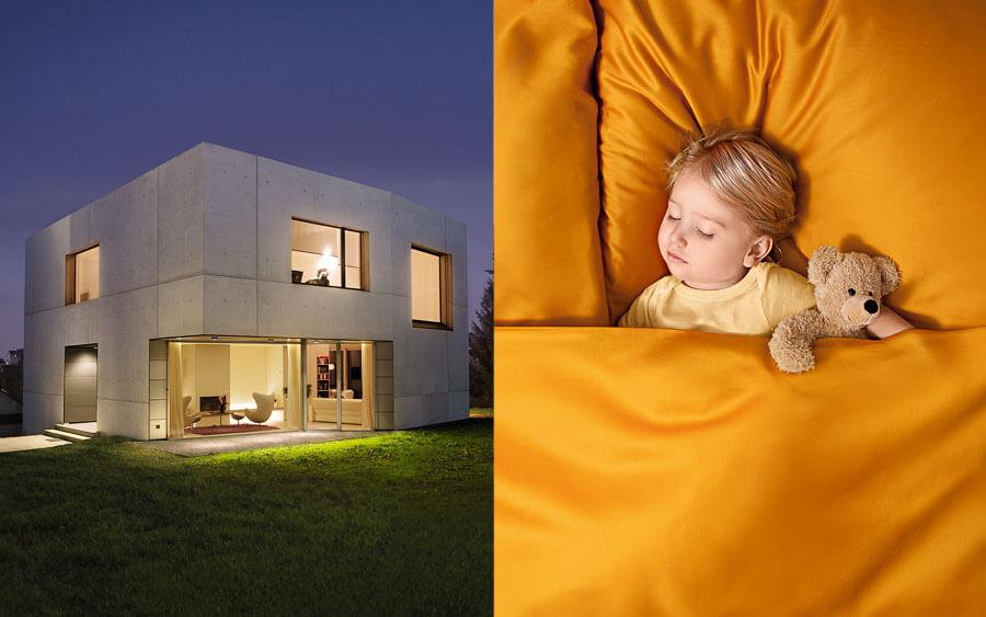 sichere schiebet ren. Black Bedroom Furniture Sets. Home Design Ideas